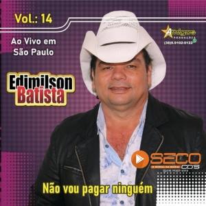 Edimilson Batista - Ao Vivo São Paulo Promocional De Maio 2021