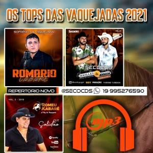 MP3 Os Tops Das Vaquejadas - Promocional Agosto 2021