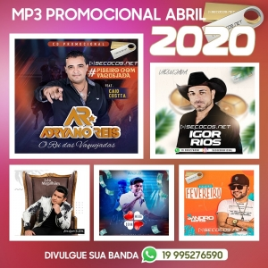 MP3 - Promocional De Abril
