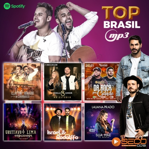 MP3 Top Brasil - Promocional Março 2021